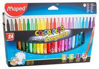 """Фломастеры """"Color Peps"""" в картонной упаковке (24 цвета)"""