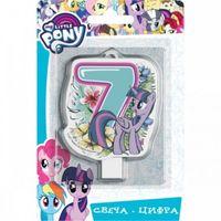 """Свеча для торта """"Цифра 7"""" (8 см)"""