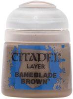 "Краска акриловая ""Citadel Layer"" (baneblade brown; 12 мл)"