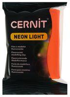 """Глина полимерная """"CERNIT Neon Light"""" (оранжевый; 56 г)"""