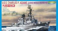 """Эсминец """"U.S.S. Charles F. Adams Guided Missile Destroyer"""" (масштаб: 1/700)"""