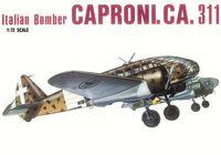 """Бомбардировщик """"Caproni. CA.311"""" (масштаб: 1/72)"""