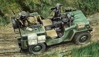 "Автомобиль ""Willy`s MB Commando car"" (масштаб: 1/35)"