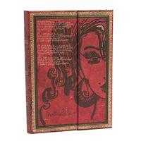 """Записная книжка в линейку """"Эми Уайнхаус. Слезы высыхают"""" (130х180 мм)"""