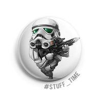 "Значок маленький ""Star Wars. Штурмовик"" (арт. 620)"
