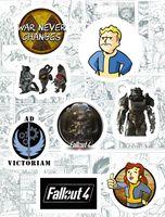 "Набор глянцевых наклеек №118 ""Fallout"""