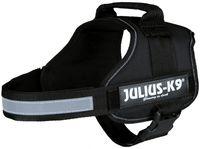 """Шлея тренировочная для собак """"Julius-K9"""" (0/M–L; 58-76 см; черная)"""