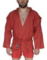Куртка для самбо AX5 (р. 42; красная; без подкладки)