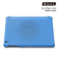 Чехол клип-кейс IRUAL Mesh Shell для iPad mini 3/ Retina, голубой (IRMSM210-MBL)