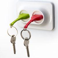 """Брелок и двойной держатель для ключа """"Unplug"""" (красный, зеленый)"""