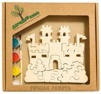 """Набор для росписи по дереву """"Замок с башнями"""""""