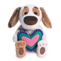 """Мягкая игрушка """"Бартоломей с сердечком"""" (20 см)"""