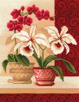 """Набор для вышивания """"Изящные орхидеи"""""""