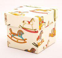 "Подарочная коробка ""Rocking Horses"" (7,5х7,5х7,5 см)"