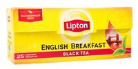 "Чай черный ""Lipton. English Brеakfast"" (25 пакетиков)"