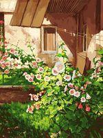 "Картина по номерам ""Куст шток розы"" (300х400 мм)"