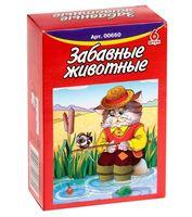 """Кубики """"Забавные животные"""" (6 шт.)"""