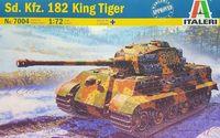 """Сборная модель """"Танк Sd.Kfz.182 King Tiger"""" (масштаб: 1/72)"""