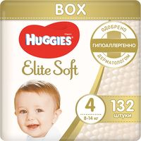 "Подгузники ""Elite Soft Box 4"" (8-14 кг; 132 шт.)"