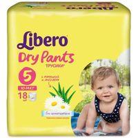 """Подгузники-трусики для детей Libero Dry Pants """"Maxi Plus"""" (10-14 кг.; 18 шт)"""