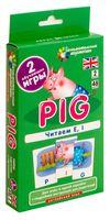 Pig. Читаем E, I. Набор карточек. Английский язык. 2 уровень