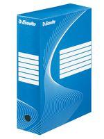 Коробка архивная Esselte (синяя, 100 мм)