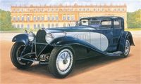 "Автомобиль ""Bugatti Royale Coupé Napoleon"" (масштаб: 1/24)"
