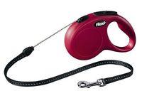 """Поводок-рулетка для собак """"New Classic"""" (красный, размер M, до 20 кг/5 м, арт. 11793)"""