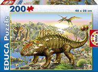 """Пазл """"Динозавры"""" (200 элементов)"""