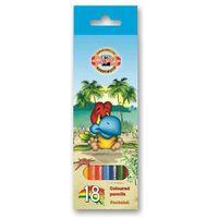 """Цветные карандаши """"BIRDS"""" в картонной коробке (18 цветов)"""