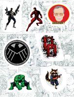 "Набор виниловых наклеек №149 ""Marvel"""