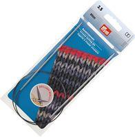 Спицы круговые для вязания (латунь; 2,5 мм; 60 см)