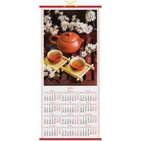 """Календарь настенный на 2020 год """"Чайная церемония"""" (32х76 см)"""