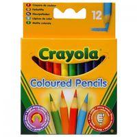 """Набор карандашей цветных """"Crayola. Короткие"""" (12 цветов)"""