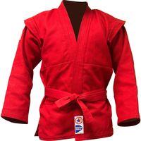 Куртка для самбо JS-303 (р. 6/190; красная)