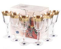 """Бокал для вина стеклянный """"Angela"""" (6 шт.; 250 мл; арт. 40600/378804/250)"""