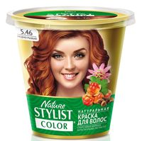 "Краска для волос ""Nature Stylist Color"" тон: 5.46, медно-рыжий"