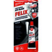 """Герметик-прокладка силиконовый """"Felix"""" (черный; 32 г)"""