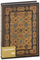 "Записная книжка Paperblanks ""Шираз"" в линейку (формат: 180*230 мм, ультра)"