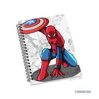 """Блокнот в клетку """"Человек-паук"""" (А5; арт. 1656)"""