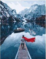 """Картина по номерам """"Норвежские фьорды"""" (400х500 мм)"""
