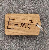 """Брелок """"Уравнение Эйнштейна"""" (арт. 646-16)"""