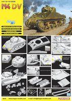 """Средний танк """"M4 DV"""" (масштаб: 1/35)"""