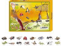"""Сборная модель из бумаги """"Жизнь насекомых"""""""