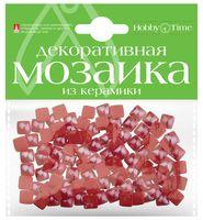 Мозаика декоративная из керамики №20 (8х8 мм; 100 шт.; красный)