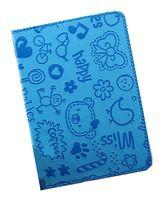"""Обложка для паспорта """"Happy Friends"""" (синяя)"""