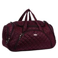 Спортивная сумка 7069с (бордовая)