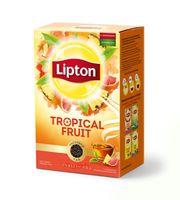 """Чай черный листовой """"Lipton. Tropical Fruit"""" (85 г)"""