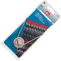 Спицы круговые для вязания (латунь; 3,5 мм; 40 см)