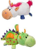 """Мягкая игрушка """"Вывернушка. Единорог-дракон"""" (40 см)"""